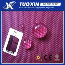 210D coated nylon oxford/nylon fabric for suitcase/awning fabric