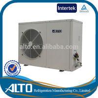 Air exchange heating system 9kw 7kw air to water heat pump heater compressor