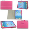 For Litchi leather ipad air case, case for ipad with handle