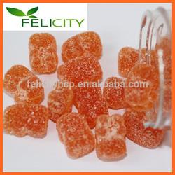 High quality Pectin Calcium+Vitamin D gummies bears