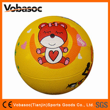 Rubber Basketball Promotional/Rubber Basketball Ball/rubber basketball