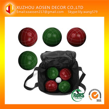 107mm Tournament Resin Bocce Set outdoor Game