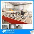 Material de construcción de yeso / placa de yeso línea de producción / planta