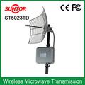 antena parabólica 30km digital sem fio transmissor de vídeo hf