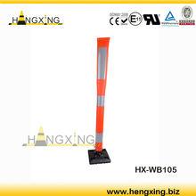 Traffic delineator post