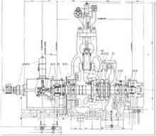 300mw classe generatore della turbina a vapore per la centrale a biomasse
