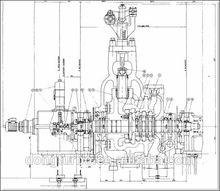 300mw classe generatore della turbina a vapore perimpianti di potenza termica
