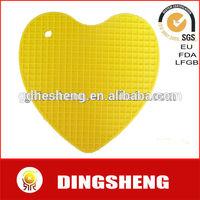 Heart shape silicone baking table