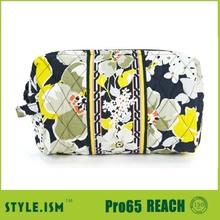 fashion print toiletries bag make up brush holder