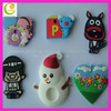 Custom design cheap promotion fashion animal shaped fridge magnet durable colorful cute eco-friendly silicone fridge magnets