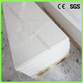 Branco puro 12mm pedra falsa paredes interiores, superfície sólida painel de paredes