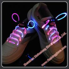 Webbing Elastic With Lace Flashing Shoe Led Shoelaces