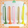 TR038 Green color trumpet,Plastic trumpet