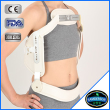 simple adjustment three joint principle posture corrective brace for proper immobilization