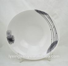 cheap ceramic plates with decal/cheap ceramic plates,tableware,chinaware,dinnerware ceramic plate price