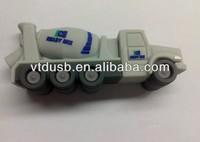 Lower price truck shape OTG usb flash drive skin