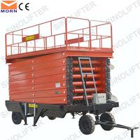 8m car trailer hydraulic lift