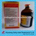 La medicina animal 20% oxitetraciclina l. Un. De inyección de antibióticos de uso veterinario