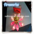 lotusblüte musik feuerwerk geburtstagskerze