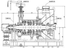 Dongturbo generatore della turbina a vapore per carbone- centrale elettrica a carbone