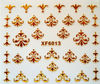 2014 fashion 3D Nail Art Stickers & Decals for gold nail sticker