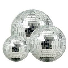 colored christmas mirror ball hanging decoration for sale with factory price