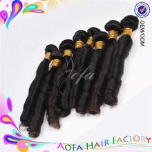 Factory stock cheap price bundles 100% virgin model human hair weave