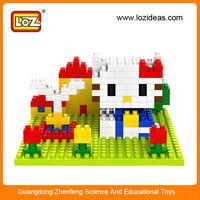 HOT LOZ 9405 educational toy kids plastic diy toy set