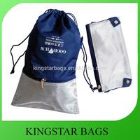 Custom Foldable Cotton Drawstring Shoe Bag
