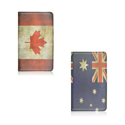 Hot Selling Product Canada And Australia Flag Rotating Standing Leather Case For Samsung Galaxy Tab S T700 From Aibaba China