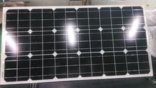 high sale new product 50W best price per watt mono solar panels