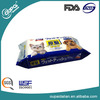 OEM china supplier dog daily pet wet wipes