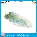 folha de cerâmica especial em forma de cachorro quente placa
