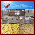 Semi - automatique ou entièrement automatique banane / plantain puces décision prix de la machine