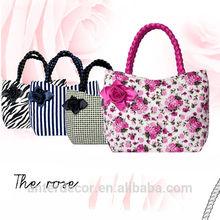 colorful floral bag summer bag handbag canvas