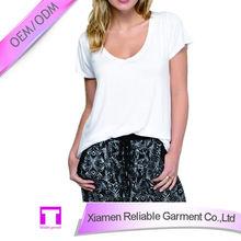 Hot sale custom women t shirt 2015 bangladesh factory