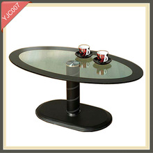 Living Room Furniture tempered glass mechanism for lift up coffee table