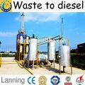 Scarti di olio motore olio& rifiuti diesel reflue e residui di olio distillare benzina e diesel olio impianto di riciclaggio
