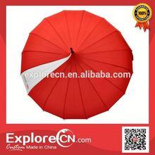 Nylon Outdoor Umbrella fan umbrella promotion
