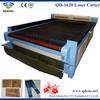Leather/textile auto feeding laser cutter/laser cotton fabric cutting machine QD-1620