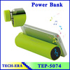 External Emergency mobile power supply portable mini power bank with speaker
