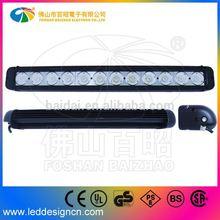 2014 New Automobile light accessory 120w single row tuning light bar For Australia Market