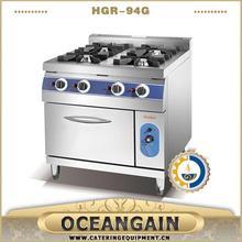 catering 3 burner commercial cooking range manufacturer
