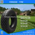 Alta calidad compactador neumáticos, Forgood marca de neumáticos con de alto rendimiento