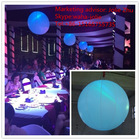 Event/party/club/stage/birthday/holiday/christmas/banquet decoration LED light inflatable balloon