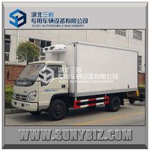 JAC 4X2 8m3 10m3 12m3 1t 2t 3t 4t small van truck refrigerated