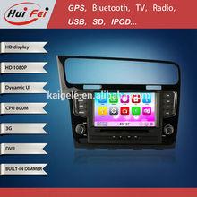 New MTK Plug and play 1 din Gps navigation for Golf MK7 2013