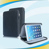 Business style three fold genuine leather cover for ipad air