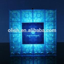 DIY Constructable Led Block Wall Light Photo Frame