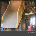 industrial pe forro chute para o misturador concreto
